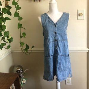 90s Vintage Liz Claiborne Lizwear Denim Dress